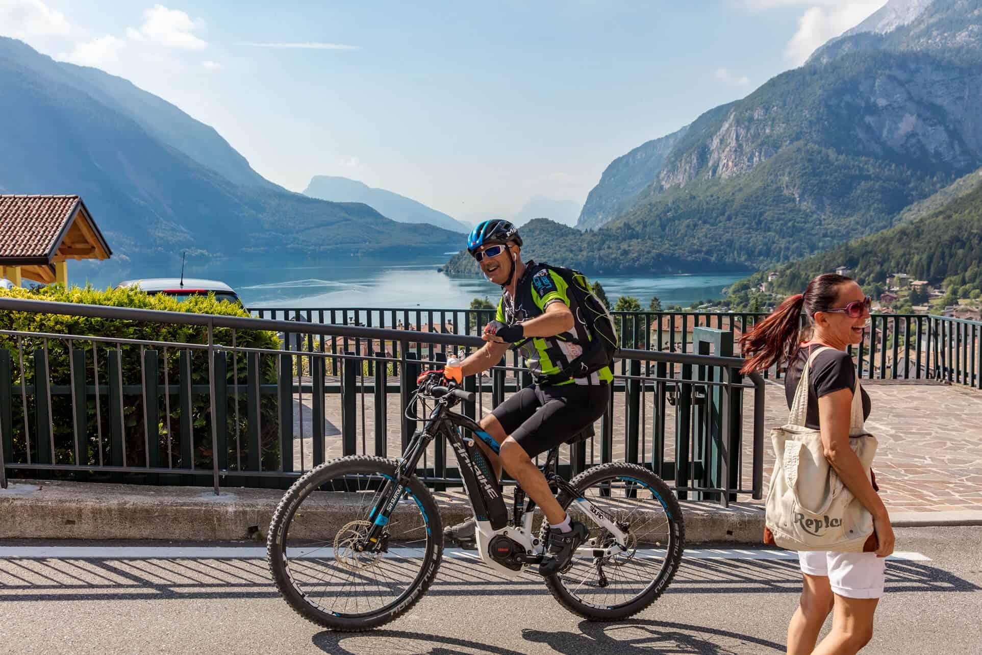 Mountainbike routes in de Dolomieten