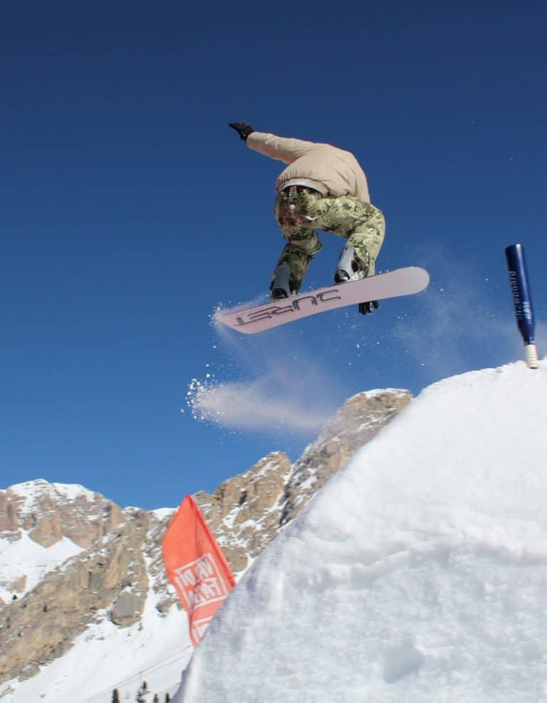 Dolomiten Snowboarden