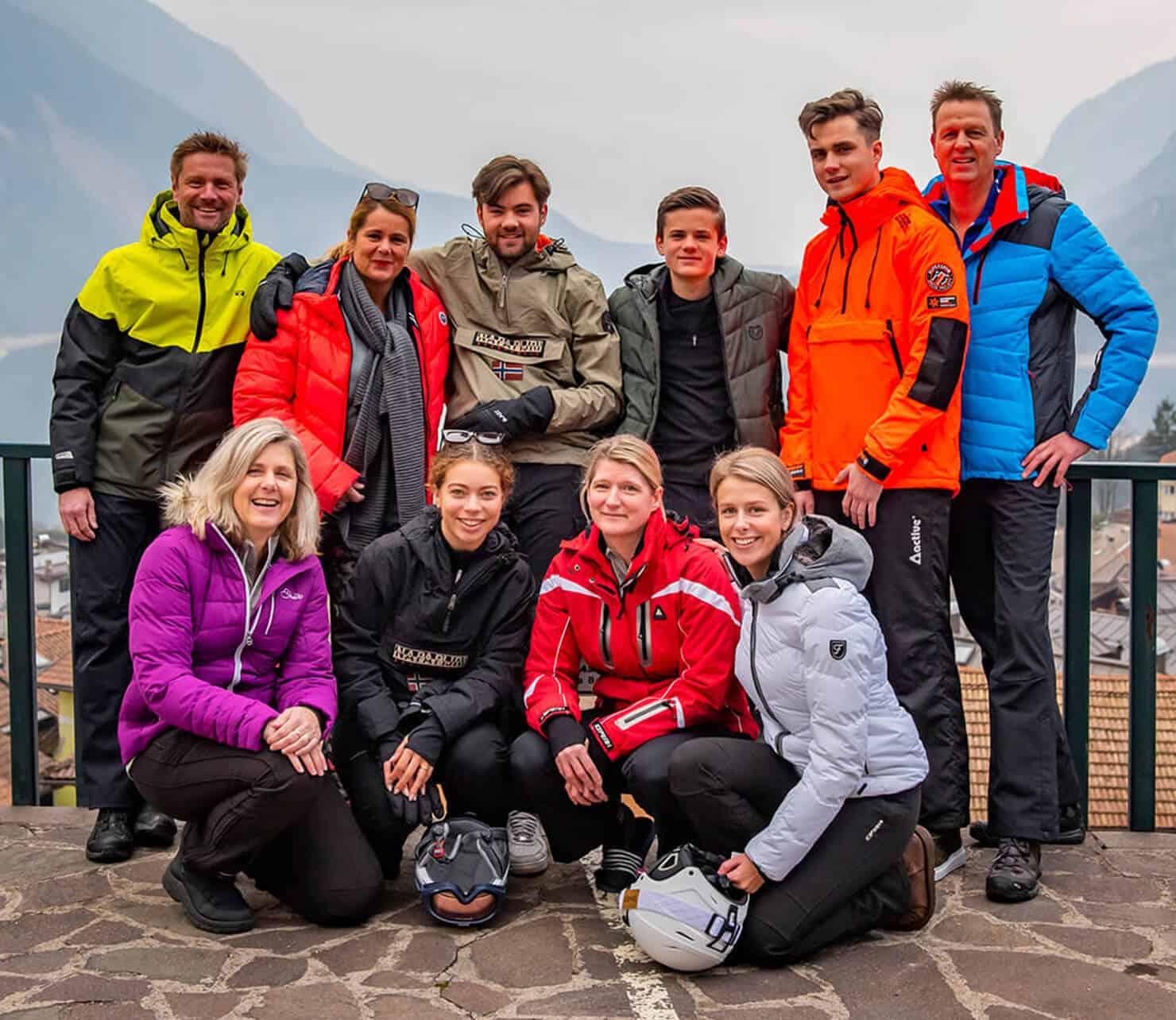 amici fuga Dolomiti