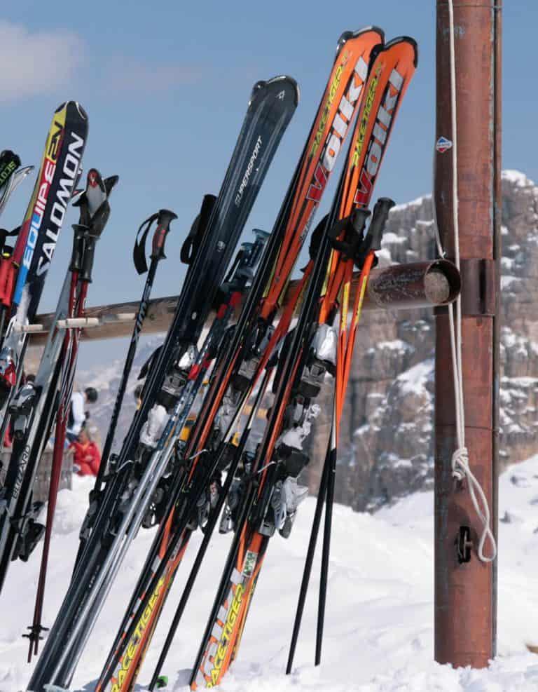 dolomieten skiën