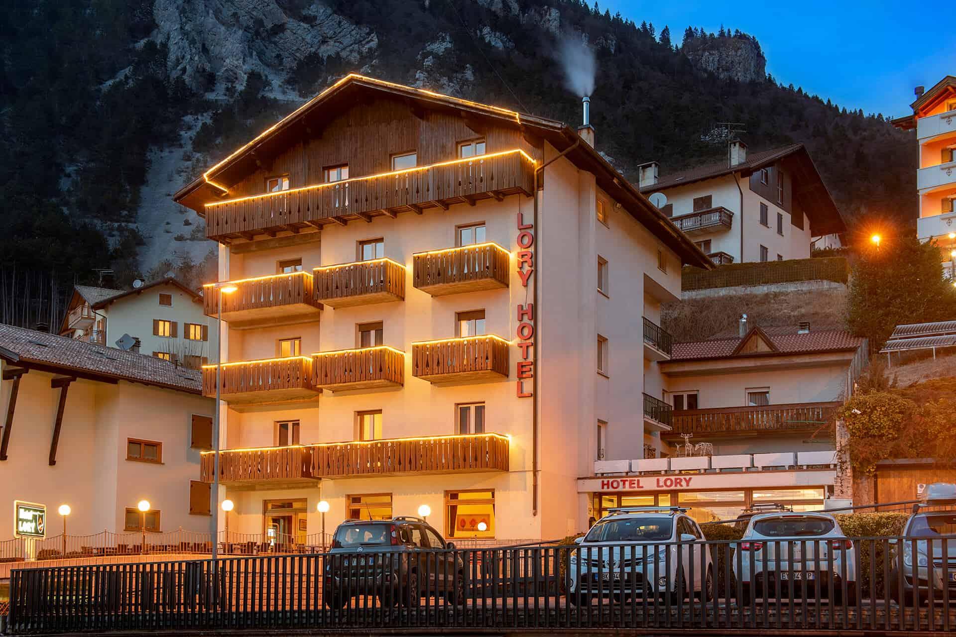 italie wintersport hotel