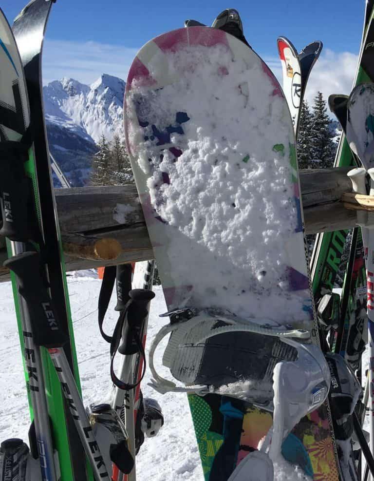 snowboarden italie