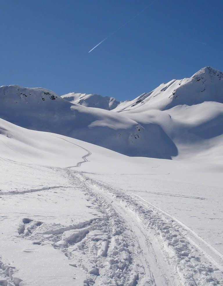pista da sci trentino