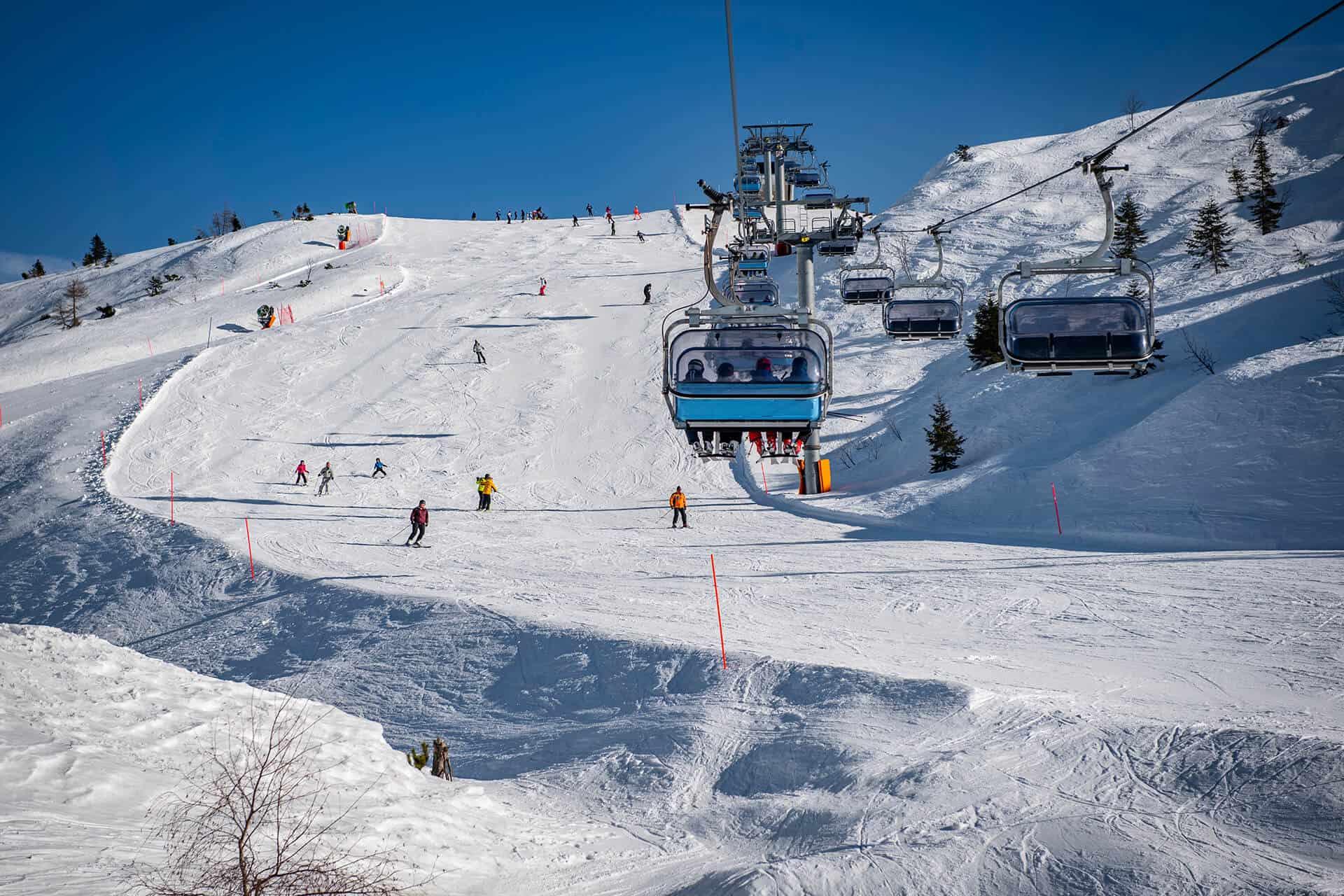 ski resorts dolomites