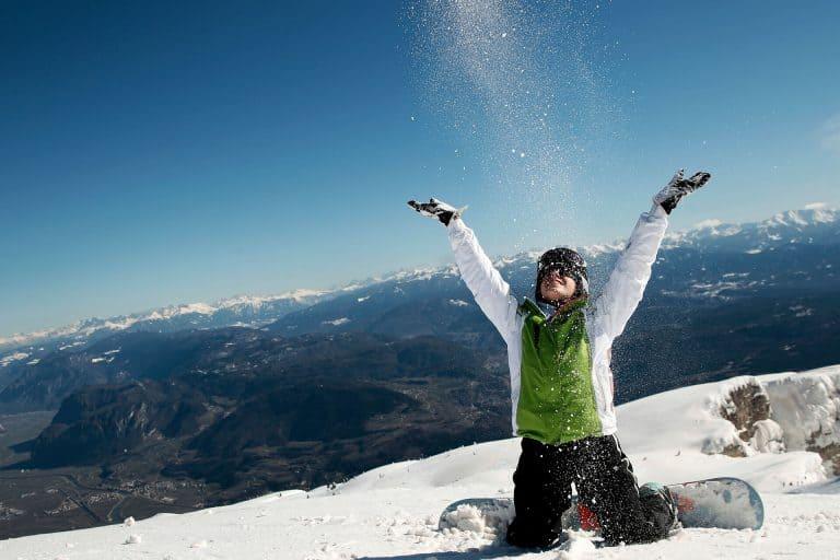 snowboarding dolomites