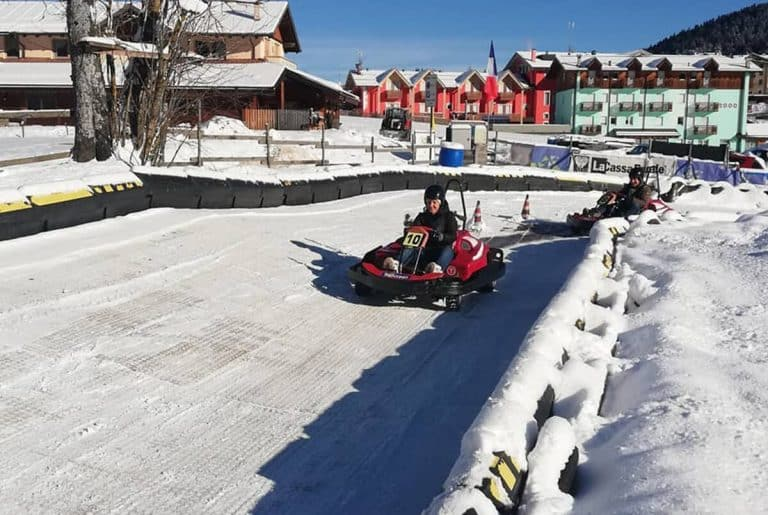 winter Icekarting Italy